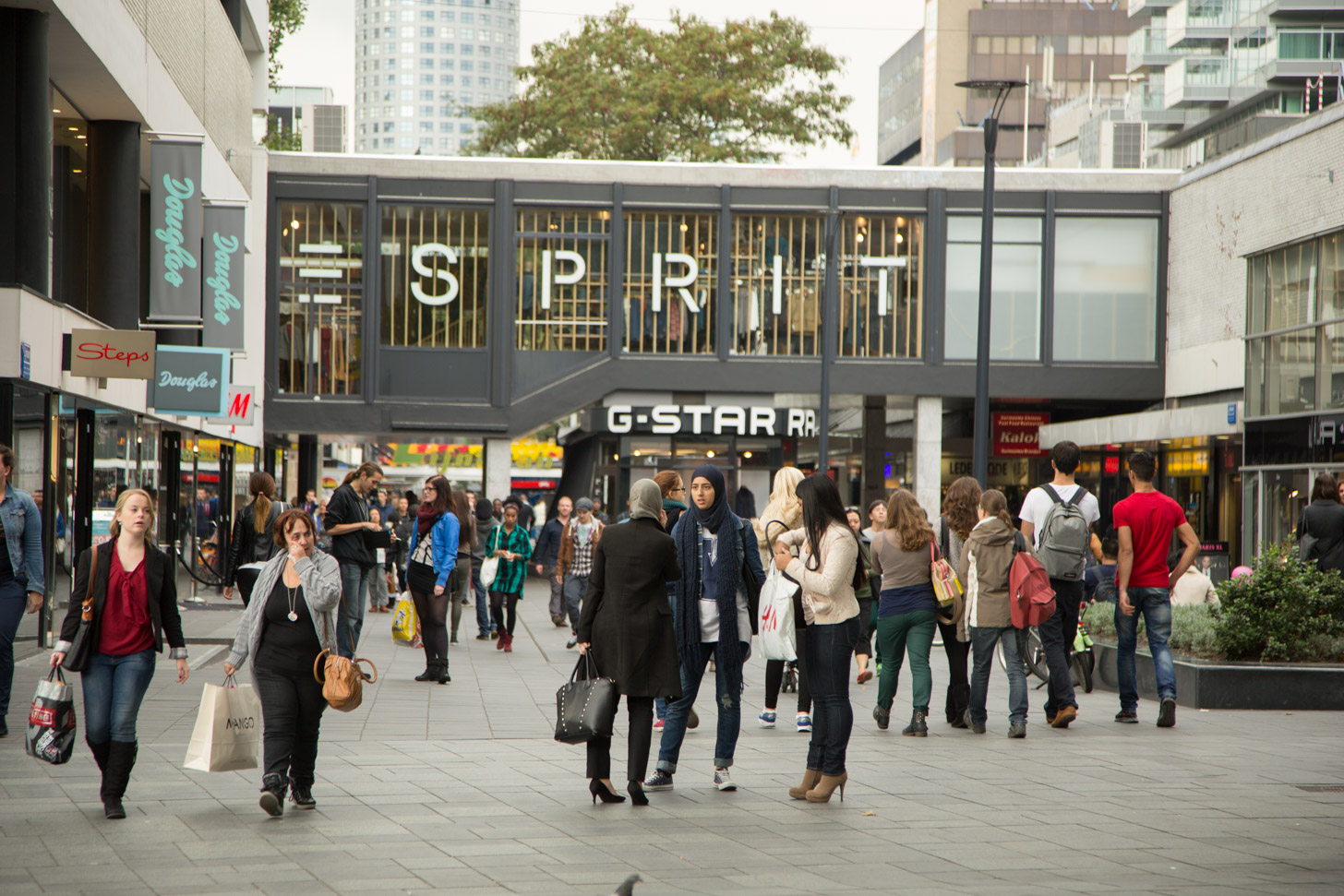 Winkelen in Rotterdam